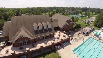 Commercial property aerial drone