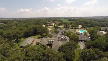 Golf Course_6 lake st louis drone