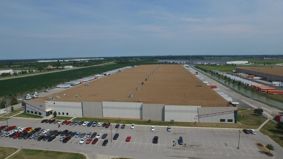 Proctor and Gamble Edwardsville, IL Drone Photography