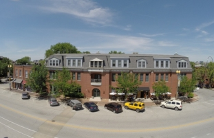 Lafayette Square drone aerial photography