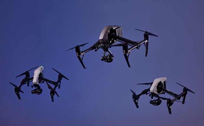 Our Drone Air Force Cinematography Inspires with multiple lens options for your shoot.